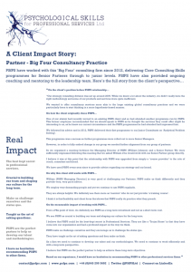 Client Impact Story 1