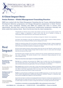 Client Impact Story 2