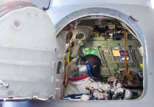 The Soyuz Simulator: replicates conditions and scenarios as closely as possible for future astronauts
