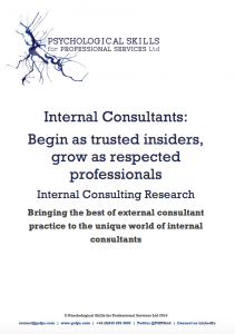 Internal Consultants Research Report