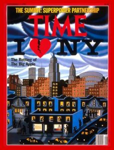 TIME magazine New York Rotting Apple